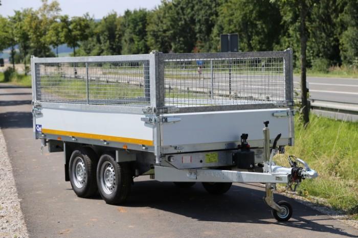Mietanhänger Rückwärtskipper 2.700 kg